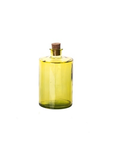 San Miguel Cilind Şişe 16 Cm Sarı Sarı